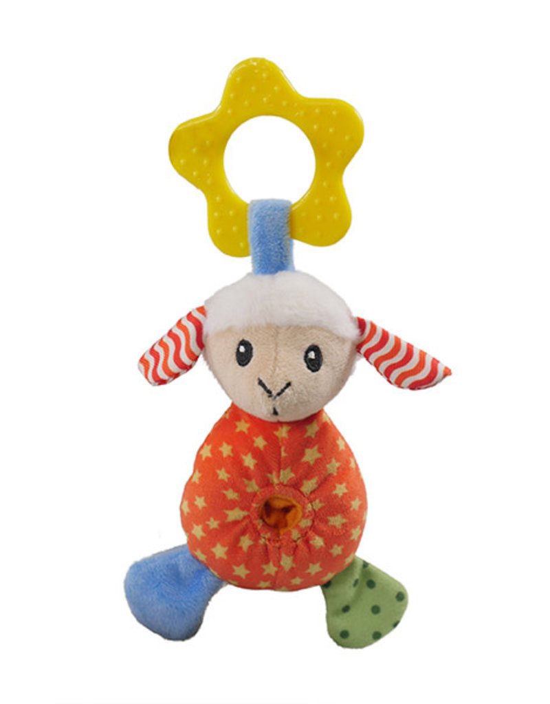 Rosewood Little Nippers Laughy Lamb Soft & Cuddly Toy for Puppies and Small Dogs