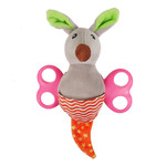 Rosewood Little Nippers Rascal Roo Soft & Cuddly Toy for Puppies & Small Dogs