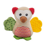 Rosewood Little Nippers Wise Owl Soft & Cuddly Toy for Puppies & Small Dogs