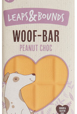Rosewood Leaps & Bounds Woof Peanut Chocolate Bar Dog Treat 100g
