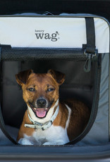 Henry Wag Folding Fabric Travel Crate Large 79x55x60cm