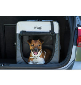 Henry Wag Folding Fabric Pet Travel Crate, Large 79x55x60cm