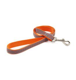 Ancol Nylon Reflective Orange Bone Lead 100cm x 19mm