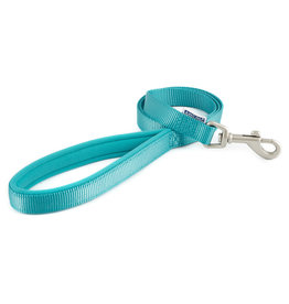 Ancol Padded Nylon Dog Lead in Teal
