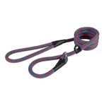 Ancol Extreme Rope Slip Lead Red/Blue Stripe 150cm x 12mm