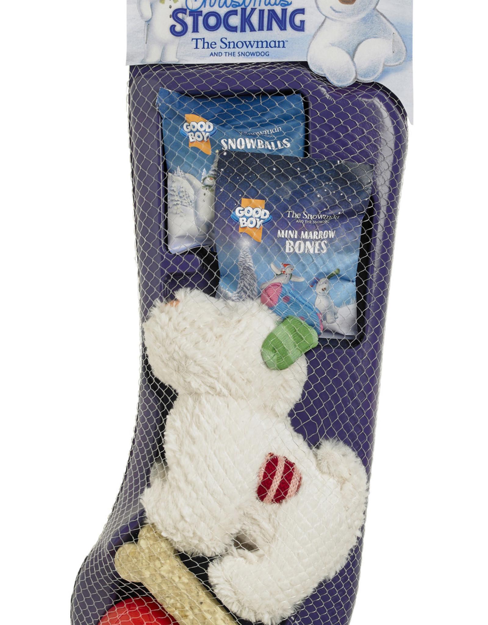 Armitage Christmas The Snowman & Snowdog Premium Dog Stocking