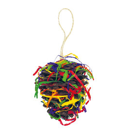 Happy Pet Christmas Party Pine Cone Small Animal Toy