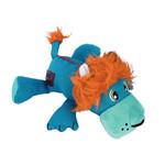 KONG Cozie Ultra Lucky Lion Plush Dog Toy, Medium