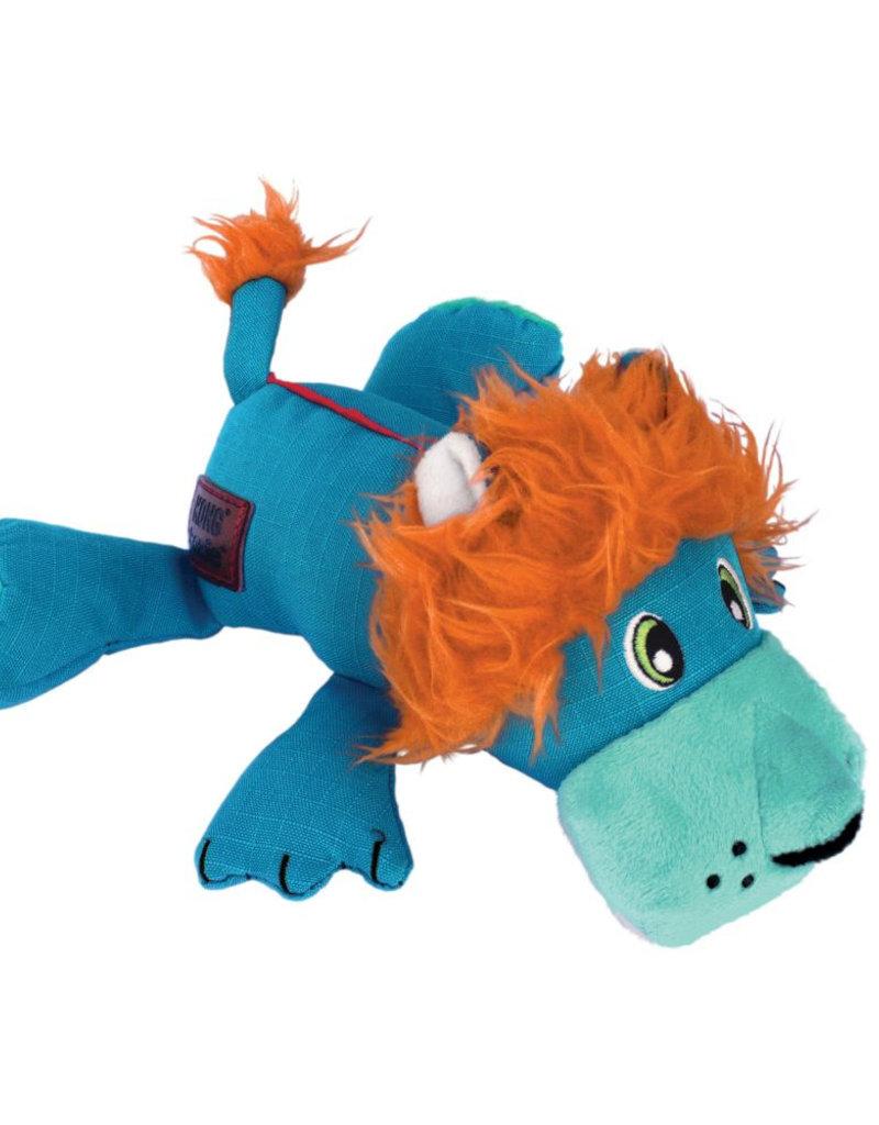 KONG Cozie Ultra Lucky Lion Dog Toy, Medium