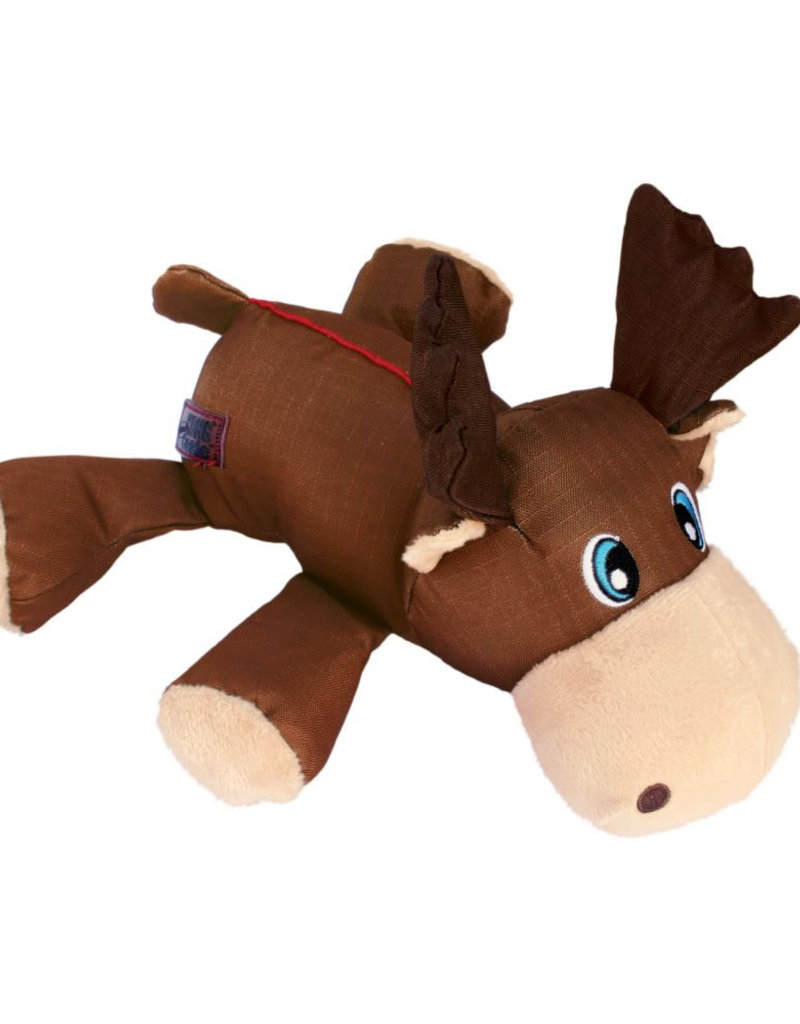 KONG Cozie Ultra Max Moose Dog Toy, Medium
