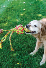 KONG Wubba Weaves Dog Toy with Rope