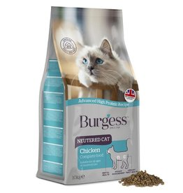 Burgess Neutered Cat Complete Food, Chicken