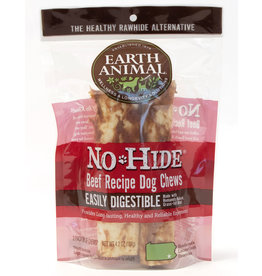 Earth Animal No Hide Beef Recipe Dog Chews, 2 pack