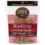 Earth Animal No Hide Beef Recipe Dog Stix Chew, 10 pack 45g