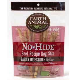 Earth Animal No Hide Beef Recipe Dog Stix Chew 10 pack 45g