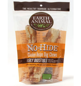 Earth Animal No Hide Chicken Recipe Dog Chews, 2 pack