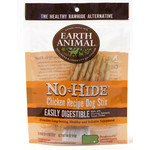 Earth Animal No Hide Chicken Recipe Dog Stix Chew, 10 pack 45g