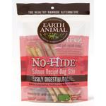 Earth Animal No Hide Salmon Recipe Dog Stix Chew 10 pack 45g