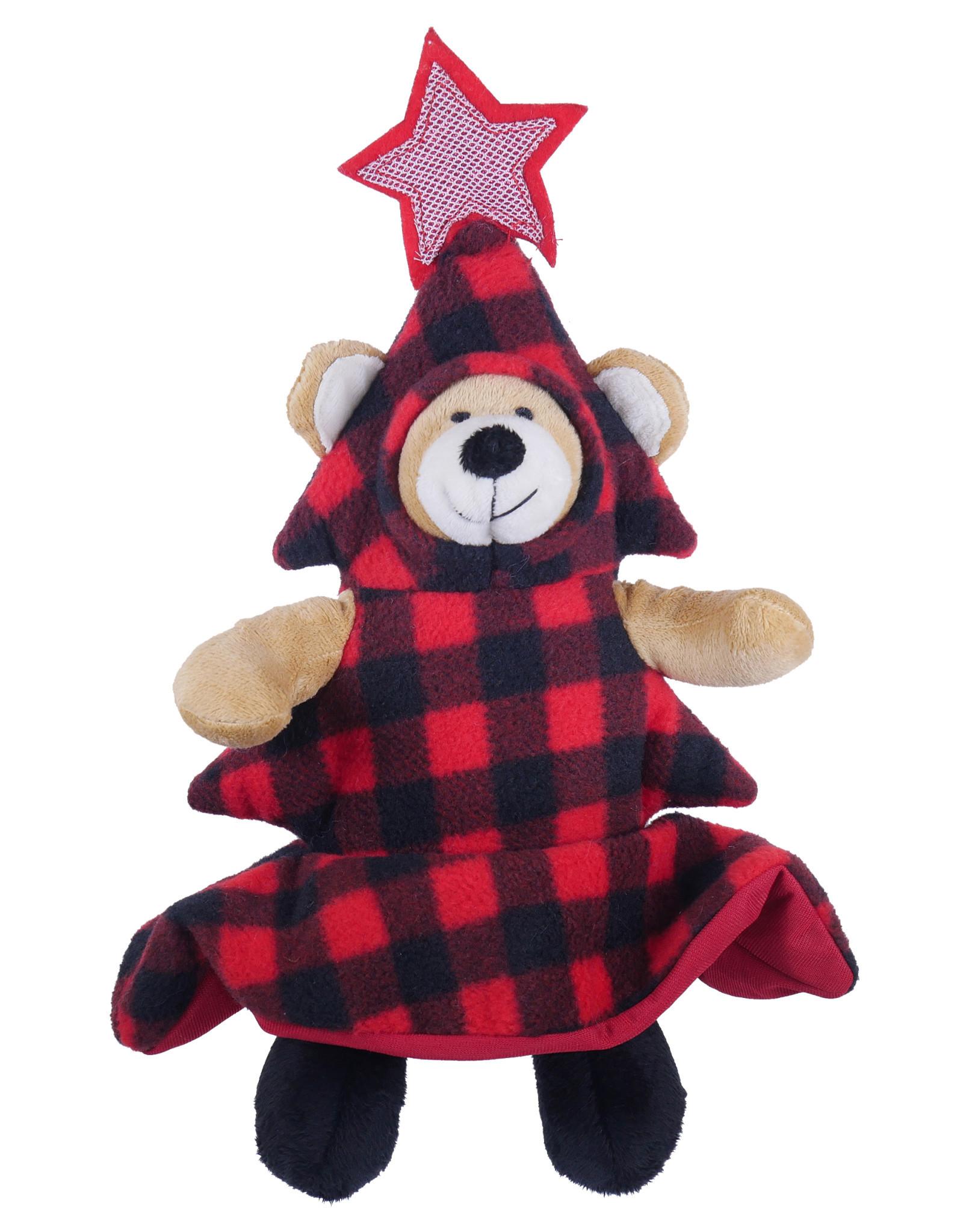 Rosewood Christmas Bauble Bear Dog Toy