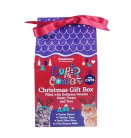 Rosewood Christmas Christmas Gift Box for Cats 100g