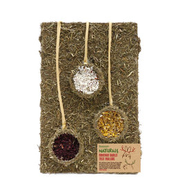Rosewood Christmas Naturals Small Animal Baubles Treat Challenge