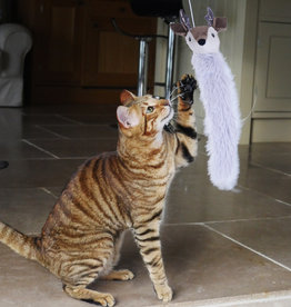 Rosewood Christmas Rudy Reindeer Cat Teaser