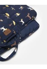 Joules Coastal Collection Dog Print Dog Travel Blanket Mat 91x68cm