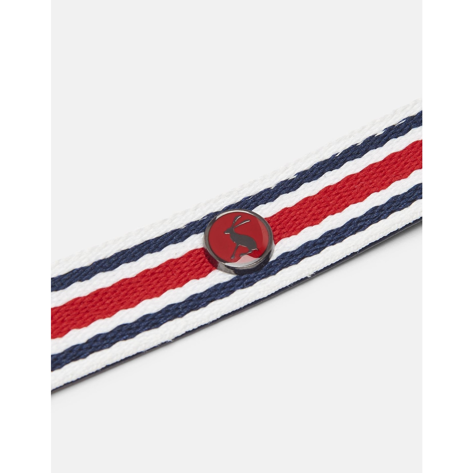 Joules Coastal Collection Red Striped Dog Lead 1.9 x 102cm