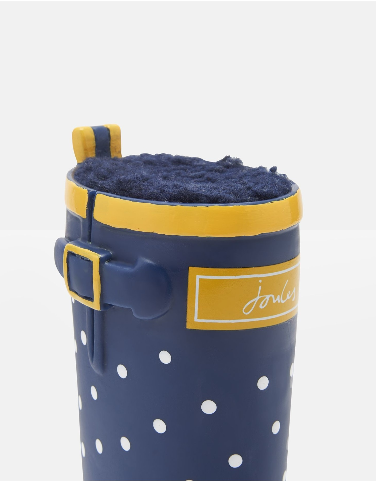 Joules Coastal Collection Spotty Wellington Boot Dog Toy