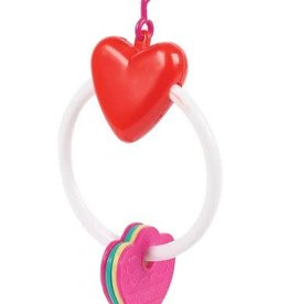 Happy Pet Key Ring Bird Toy
