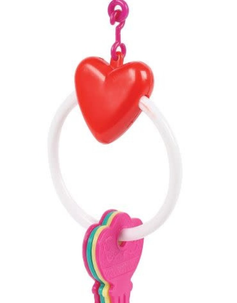Happy Pet Key Ring Bird Toy