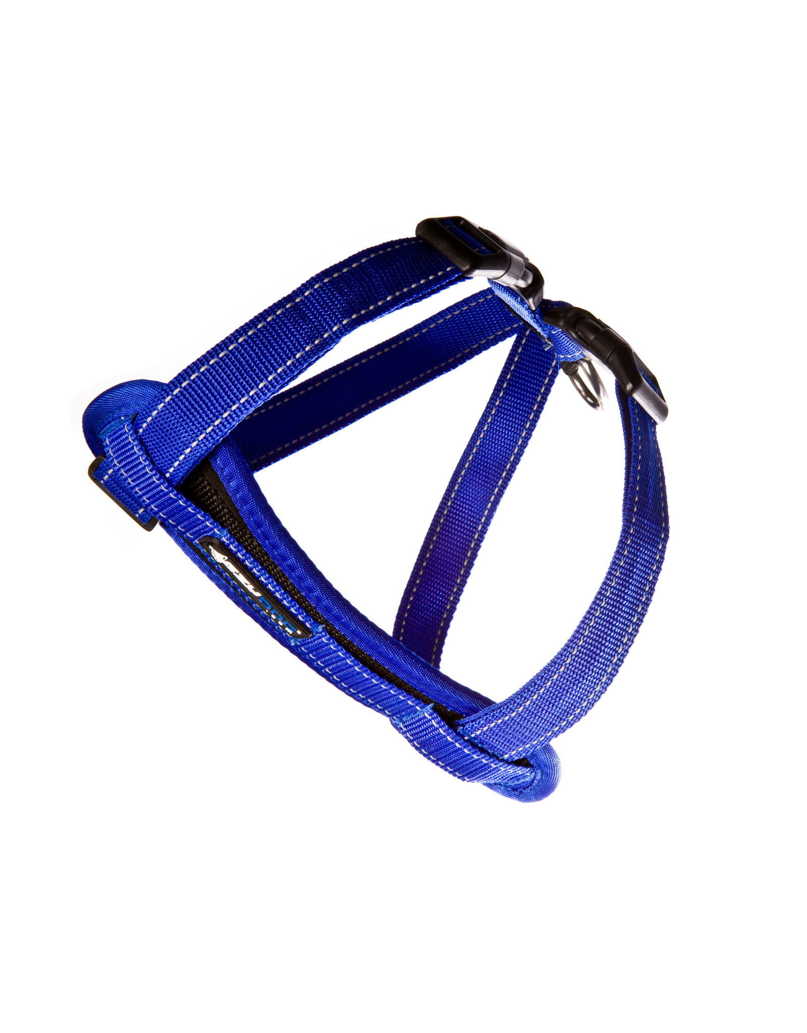 EzyDog Chest Plate Dog Harness with Seat Belt Loop, Blue