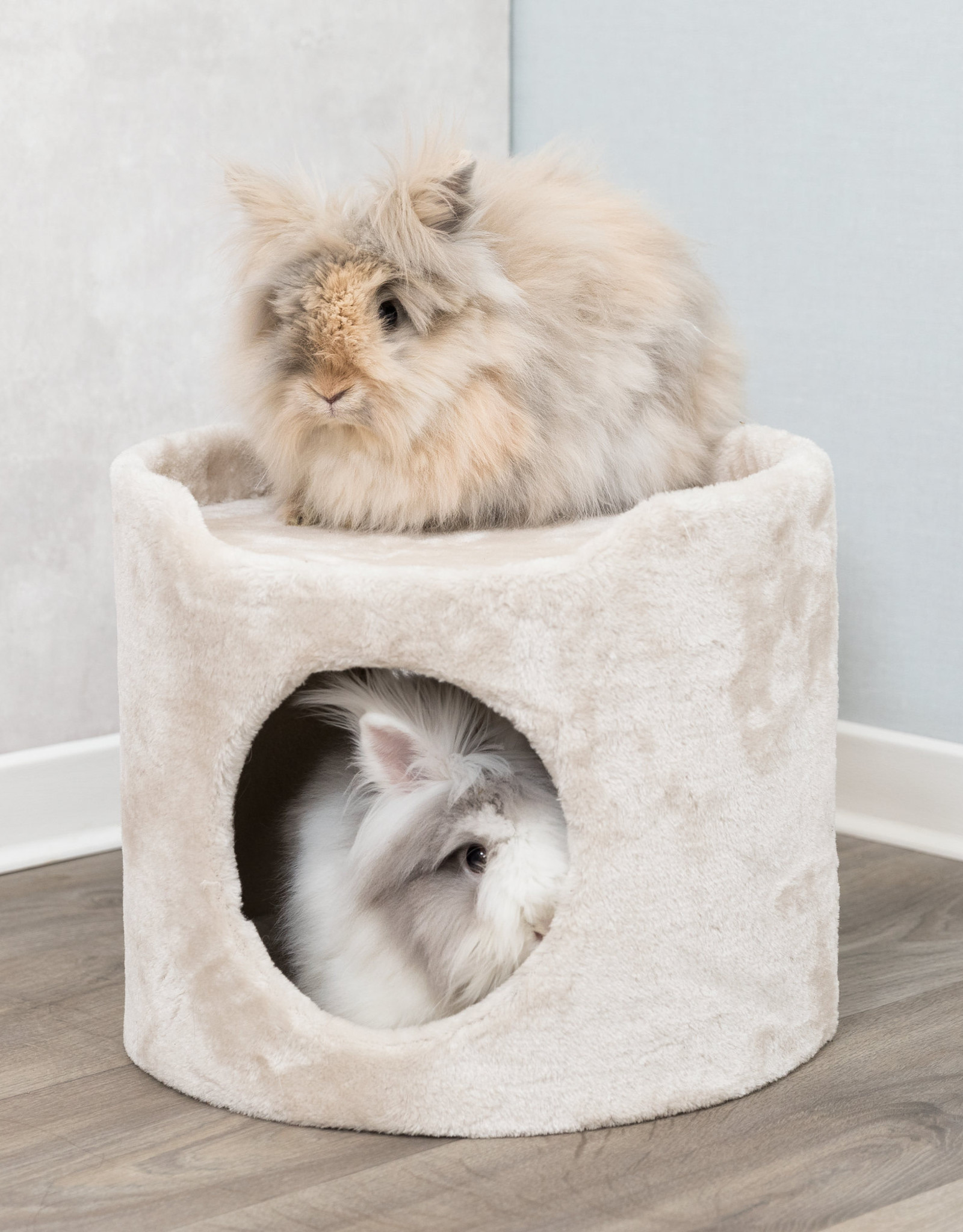 Trixie Plush Tower and Cave for Rabbits and Guinea Pigs