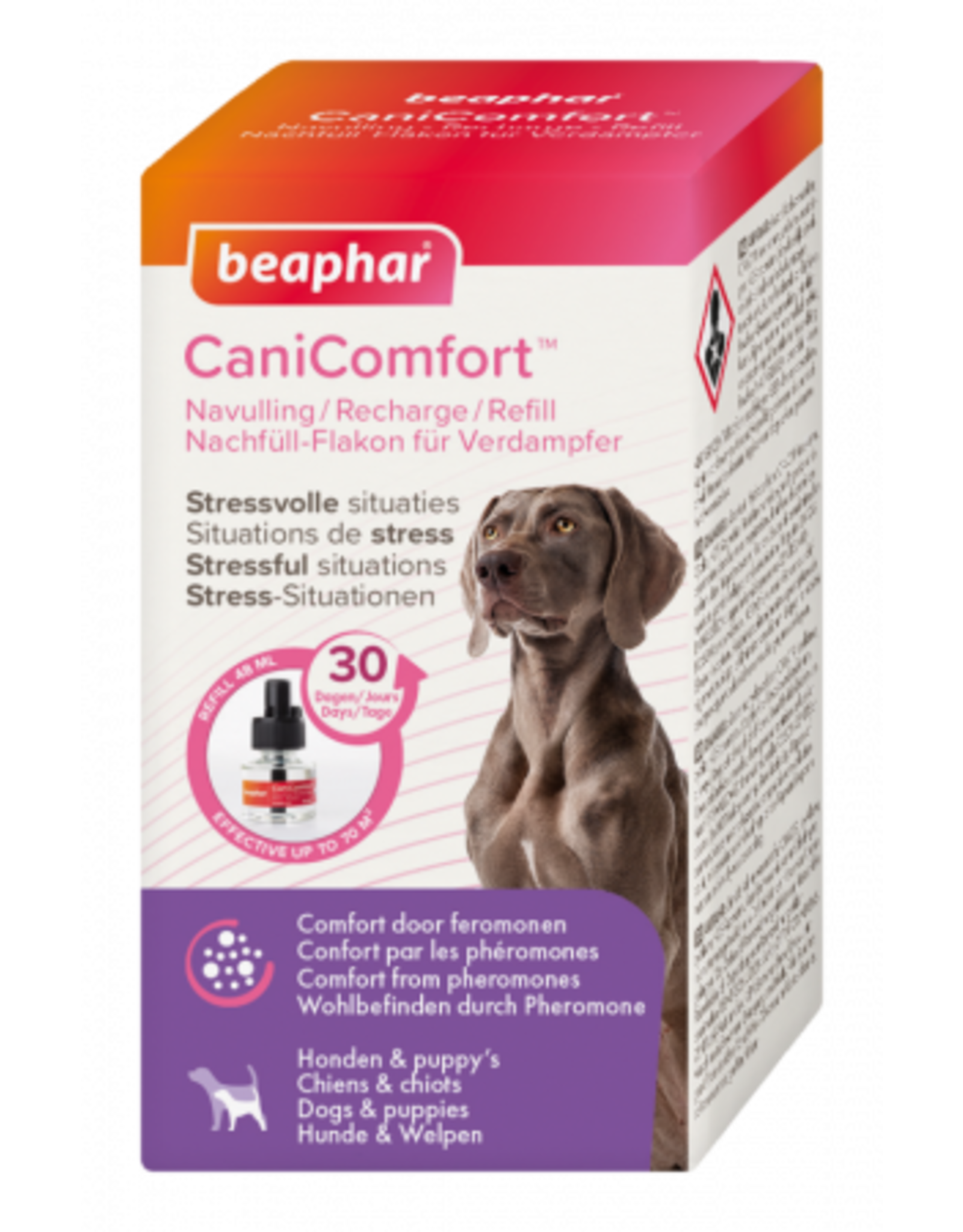 Beaphar CaniComfort Dog Calming Diffuser, 30 Day Refill