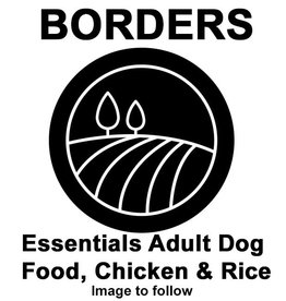 Borders Essentials Adult Dog Food, Chicken & Rice 15kg