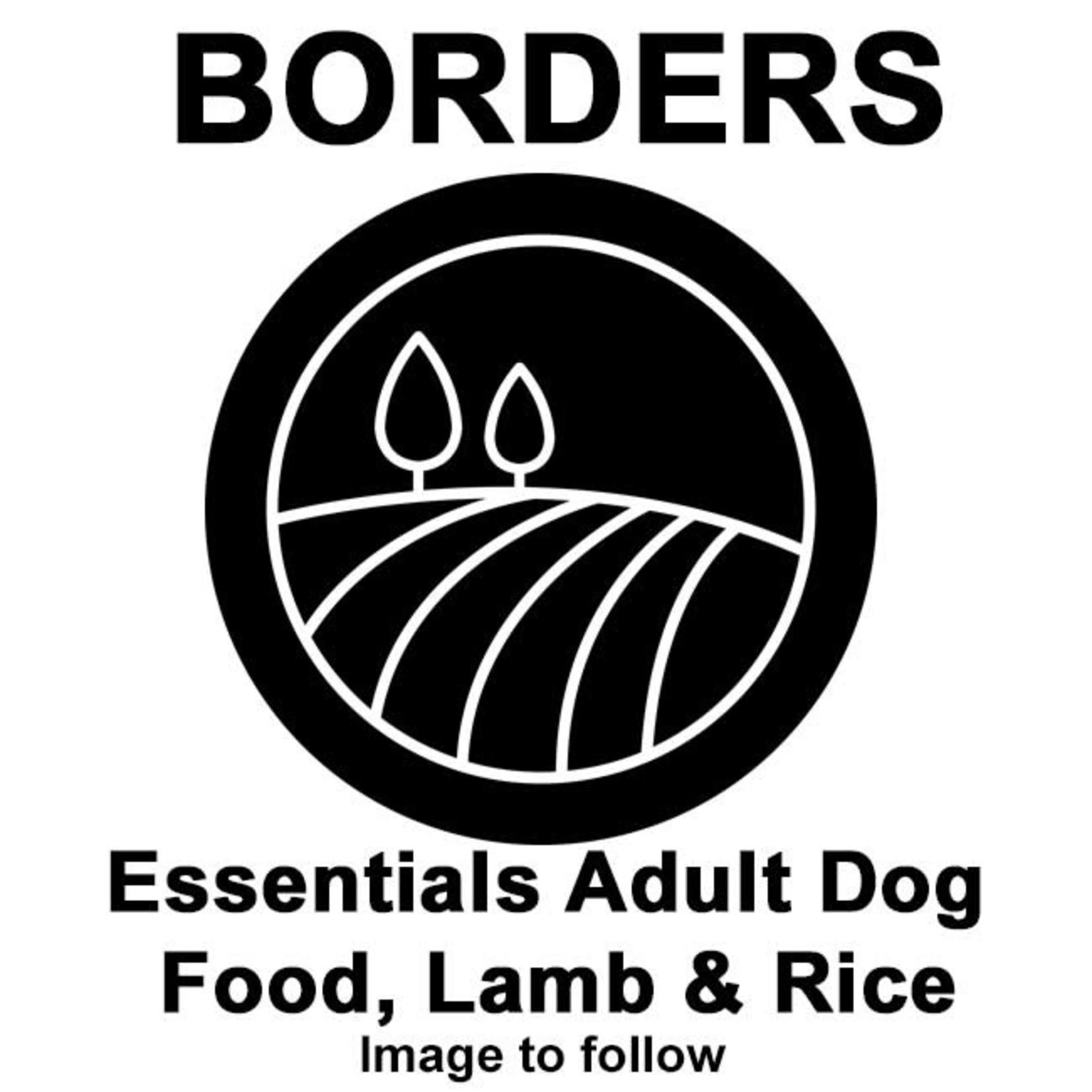 Borders Essentials Adult Dog Food, Lamb & Rice 15kg
