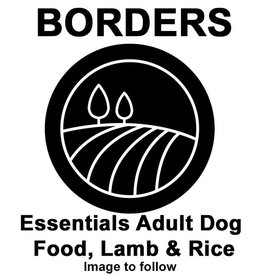 Borders Essentials Adult Dog Food, Lamb & Rice 15kg