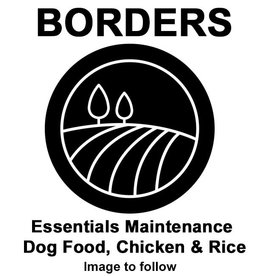 Borders Essentials Maintenance Dog Food, Chicken & Rice 15kg