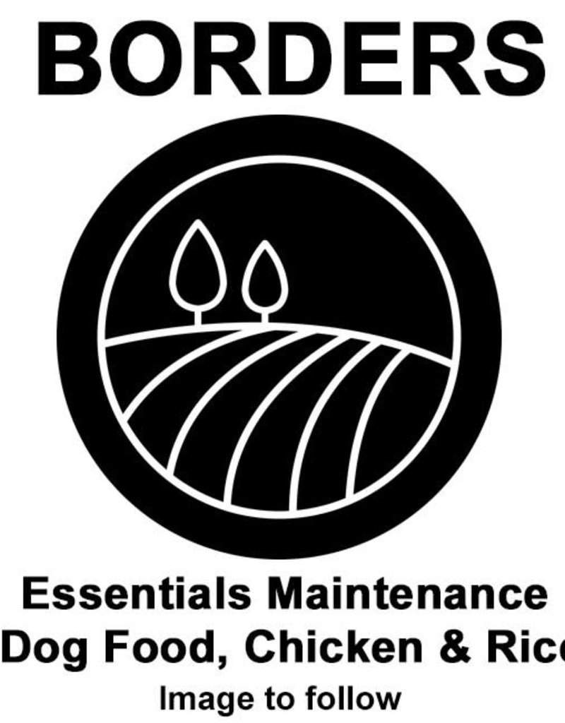 Borders Essentials Maintenance Dog Food, Chicken & Rice 15kg