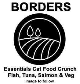 Borders Essentials Cat Food Crunch Fish, Tuna, Salmon & Veg 10kg