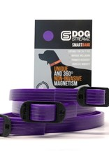 Streamz Silicone Band for Dogs Purple 55cm