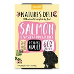 petello Natures Deli Salmon with Parsley & Brown Rice Adult Dog Wet Food, 400g