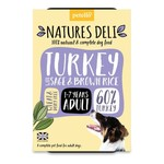 petello Natures Deli Turkey with Sage & Brown Rice Adult Wet Dog Food, 400g
