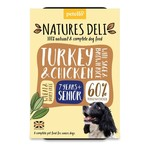 petello Natures Deli Turkey & Chicken with Sage & Brown Rice Senior Dog Wet Food, 400g