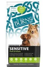 Burns Sensitive Dog Dry Food, Pork & Potato