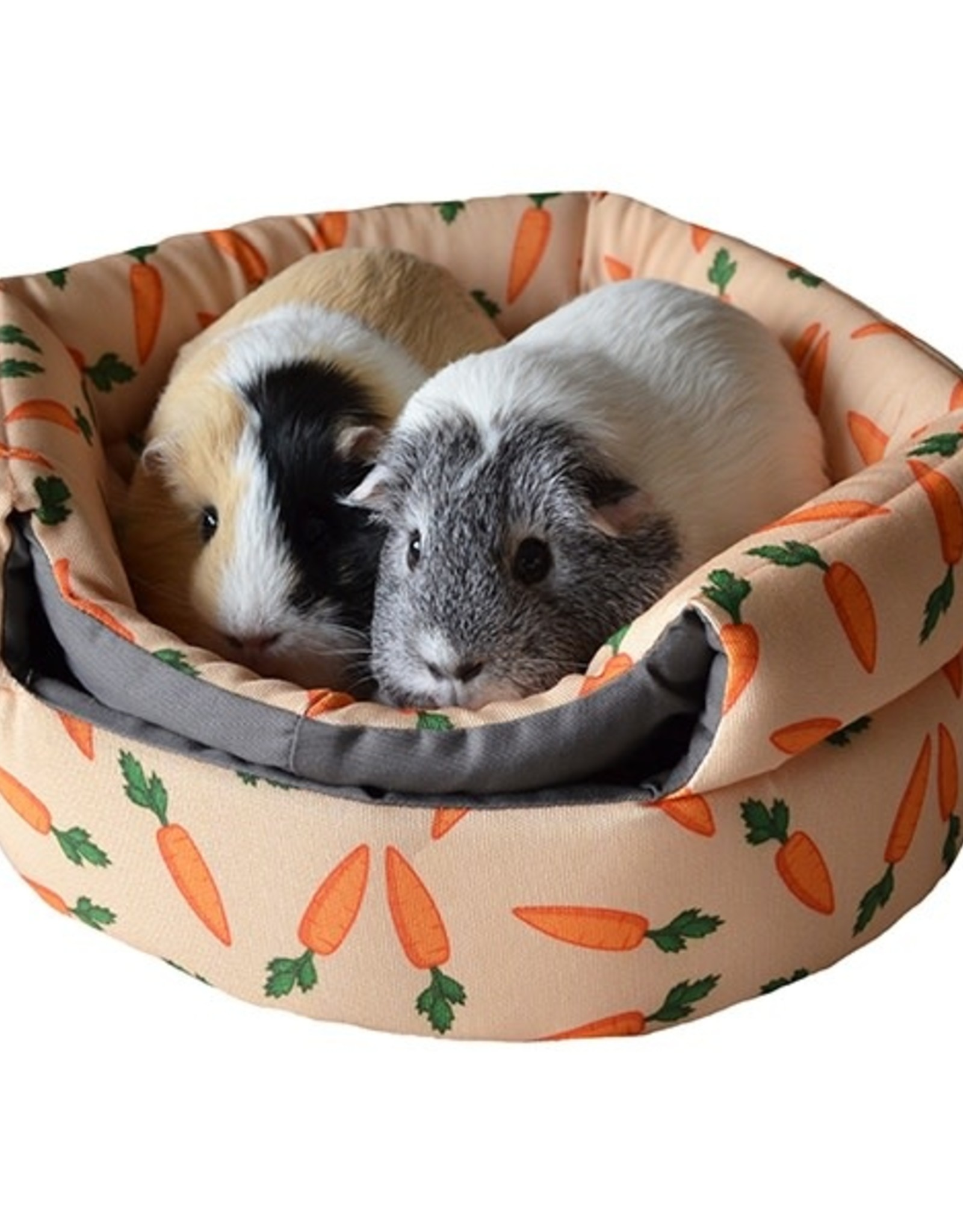 Picture of: 2 In 1 Carrot Design Beehive Small Animal Bed Pet Care By Post