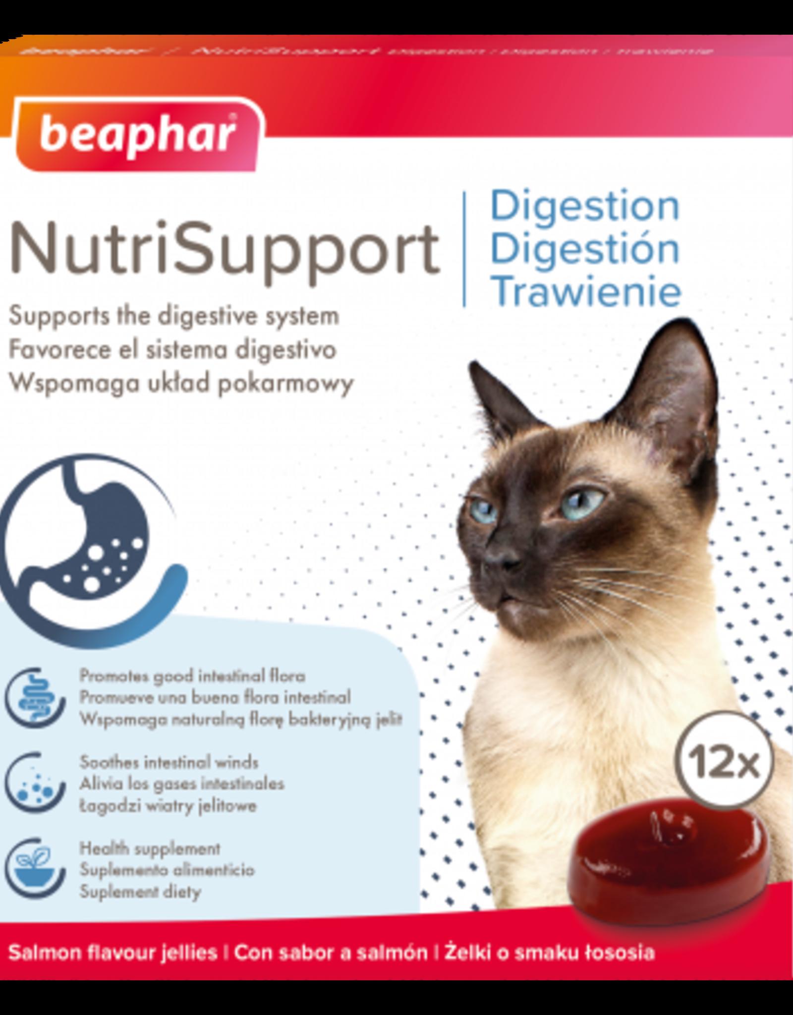 Beaphar NutriSupport Digestion Cat Supplement, 12 pack