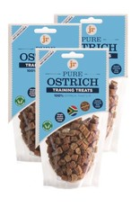 jr pet products Ostrich Training Dog Treats 85g
