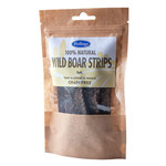Hollings 100% Natural Wild Boar Strips Dog Treats, 5 pack