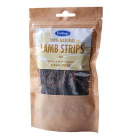 Hollings 100% Natural Lamb Strips Grain Free Dog Treats, 5 pack